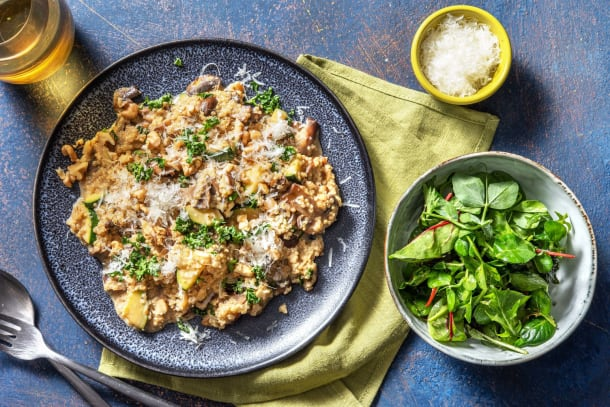 Kalorisnåla måltider - Krämig quinotto