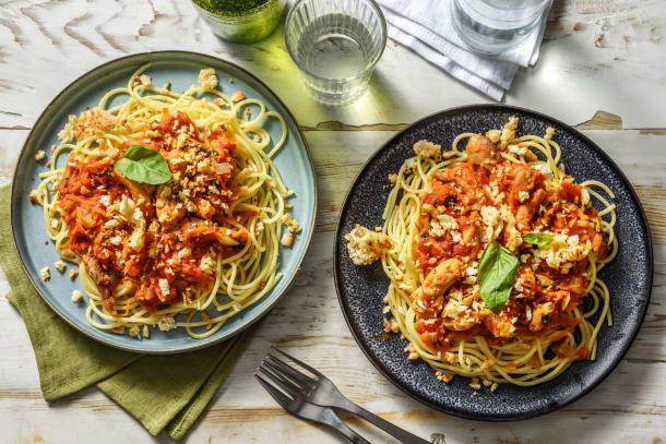 Snabba Middagstips - Kyckling i tomatsås