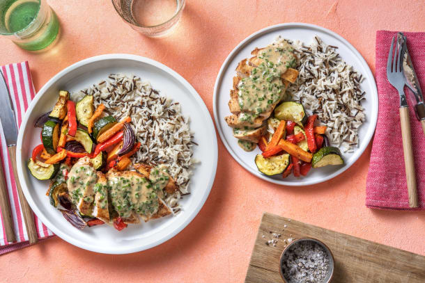 Hälsosamma Recept - Kycklingfilé med krämig pepparsås