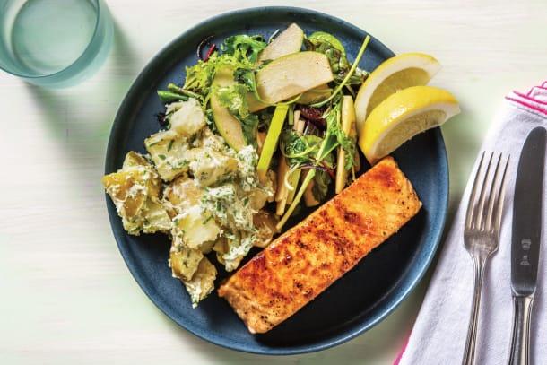 Quick Dinner Ideas - Lemon Pepper Salmon
