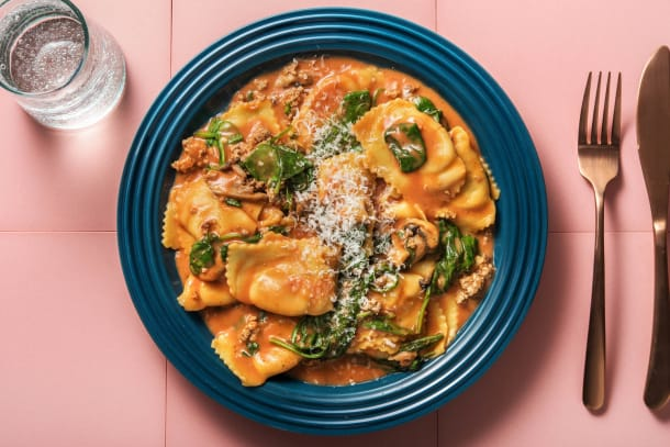 Schnelle Gerichte - Maxi-Tortelli mit Spinat-Ricotta-Füllung