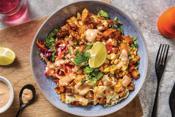 Quick Meals - Mexican Spiced Cauliflower Bowl