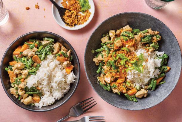Miso & Coconut Chicken Curry