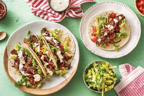 Quick Dinner Ideas - Loaded Beef Fajitas