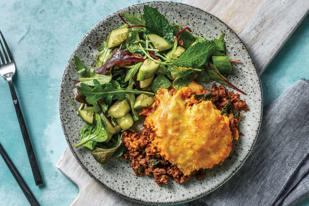 Moroccan Beef Cottage Pie