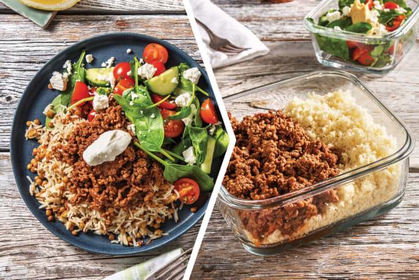 Moroccan Beef & Lentil Rice for Dinner