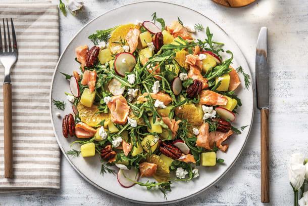 Rainbow Trout & Orange Salad