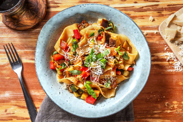Hälsosamma Recept - Ratatouille Style Pasta
