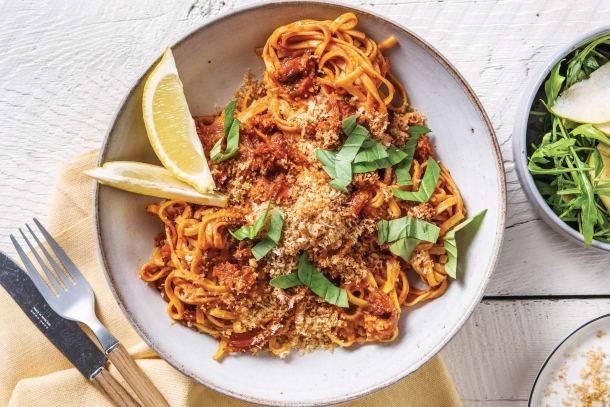 Quick Meals - Red Pesto & Chorizo Fettuccine
