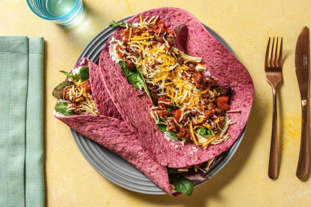 Schnelle Gerichte - Rote-Bete-Burritos mit Hackfleisch