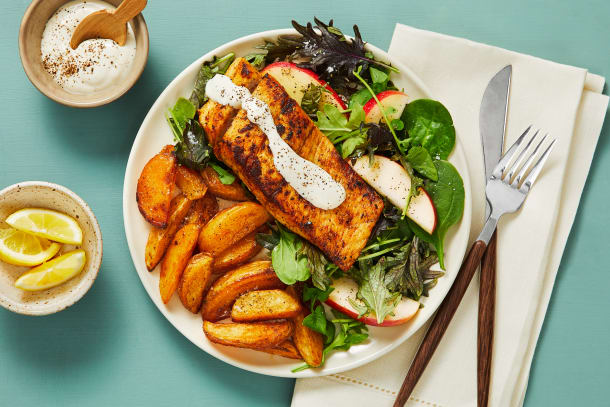 Quick meals - Seared Barramundi & Horseradish Sauce