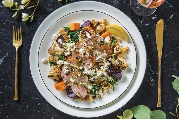 Pork Fillet & Veggie Pearl Couscous