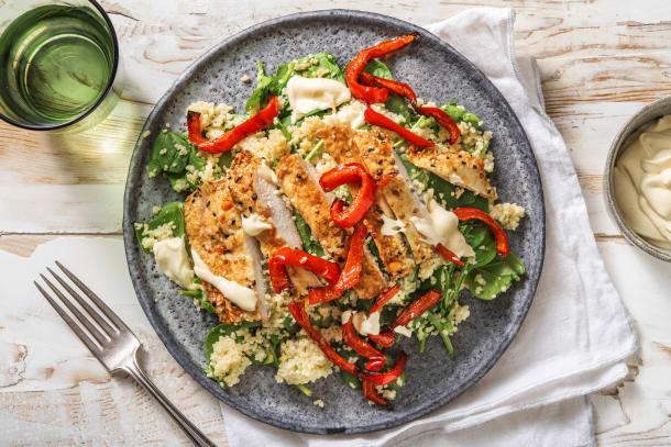 Familjefavoriter - Sesam- och vitlöksmarinerad kyckling