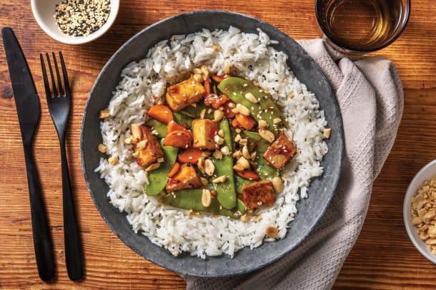 Sesame Chinese Tofu