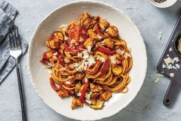 Quick Meals - Sicilian Chicken Spaghetti