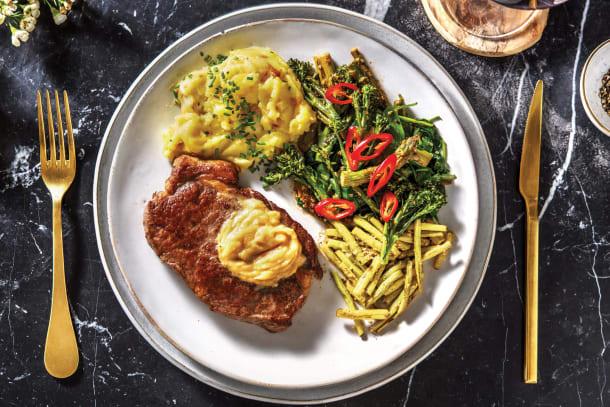 Sirloin Steak & Miso Butter