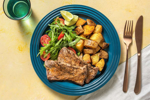 Sizzler Steaks with Chipotle Butter