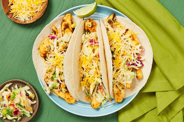 Speedy Start Chicken Tacos