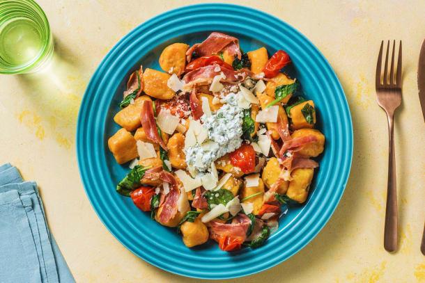 Schnelle Gerichte - Süßkartoffelgnocchi mit Salbei