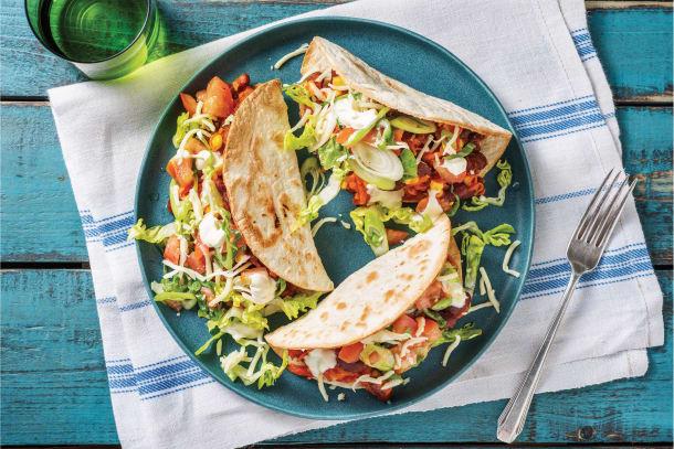 Quick Dinner Ideas - Tex-Mex Bean Tacos