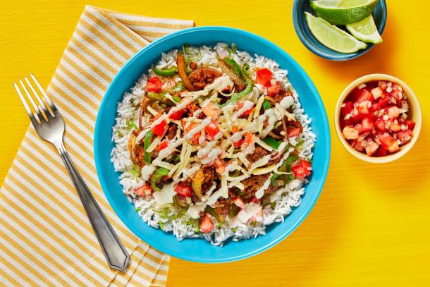Tex-Mex Pork Enchilada Bowls