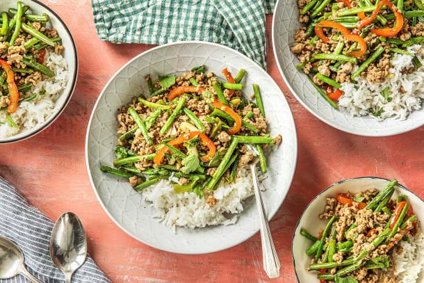 Thai Pork Stir-Fry