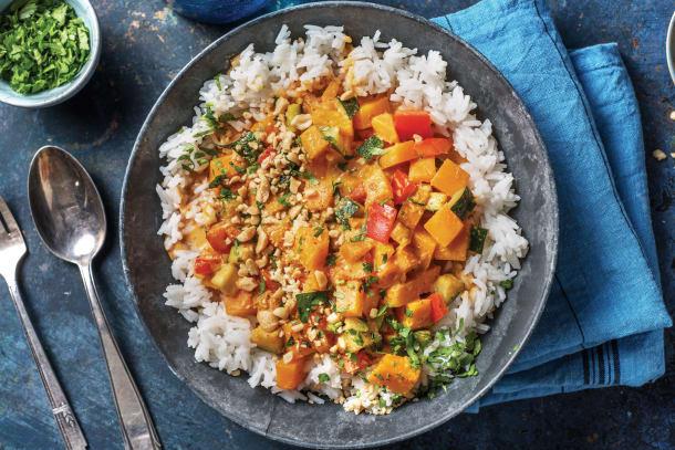 Thai Pumpkin & Veggie Red Curry