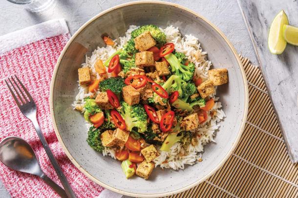 Thai Seven Spiced Tofu