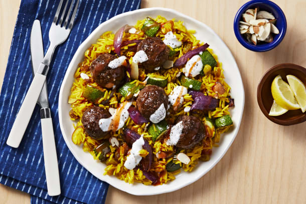 Tunisian-Spiced Meatballs