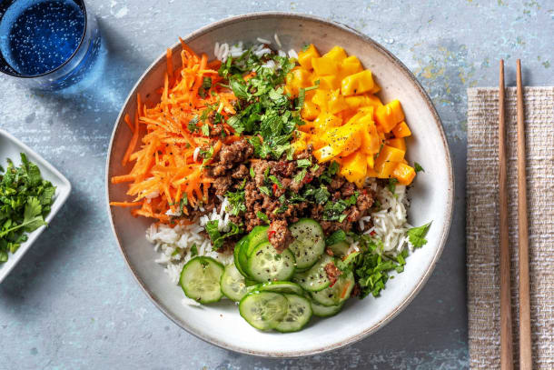 Hälsosamma Recept - Vietnamesisk köttfärs
